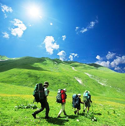 hiking-green